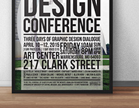 UCM 3rd Annual Design Conference | Poster Design
