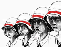 44 WARSAW UPRISING FALLEN KIDS - illustration