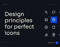 Design principles for perfect icons