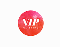 Branding and webdesign for VIP catering company
