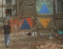 Trianglism in Kathmandu Streets with Riccardo Colombo