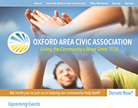 Website design V01 -- Oxford Area Civic Association