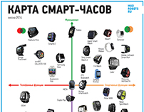Smartwatches map and profiles (spring 2014)