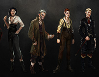 Character Design -DISHONORED Inspo-