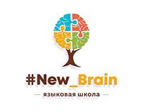 Логотип и визитка для языковой школы