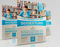 Bookstore Flyer Template