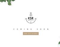 KSR Bracelets Logo design