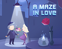 A Maze in Love - Game Art