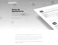Ficha de apoiamento PRDB