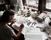 Collaboration with Kla.si.k.a, ceramic studio