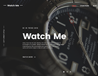 Watch Me – E-commerce PSD Theme