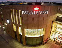 PALAIS VEST. New designs and a 3D iconic storefront.