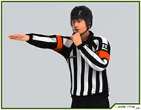 3D Model: Hockey Referee HQ