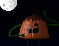 PUDKING PUMPKIN - Character Design