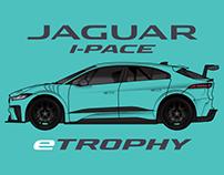 Jaguar I-PACE eTROPHY Livery Design