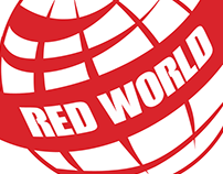 Red World Productions Logo & Branding