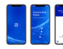 Deutche Bank Mobile App UI UX Design