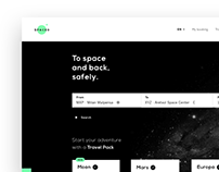 SPACED // Landing page design