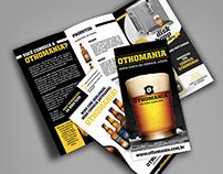 Folder com 2 dobras - Cervejaria Othomania