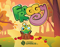 Froggy Adventures - mobile game