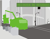 Recisa. Illustrations for web