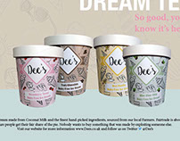 Packaging - Dee's Dairy Free Ice Cream