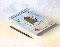 Notebooks for Happy Paw
