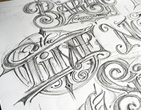 Typography - sketches
