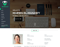 MORACO - Personal Vcard Resume HTML Template