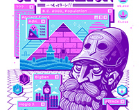 Sid Meier's Civilization - Shirt / Pins (Sanshee)