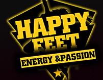 Logo Design | Women's team | Happy Feet |