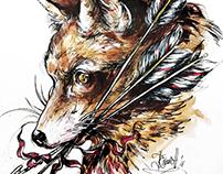 Militant fox