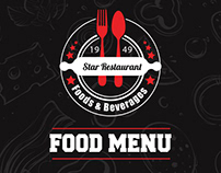 Restaurant Flyer and Food Menu
