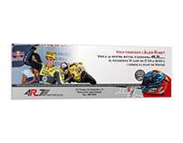 La tienda 4R7 anuncia la visita del piloto Alex Rins