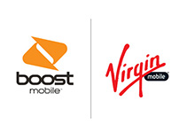 Boost and Virgin Mobile Promotional Email Designs