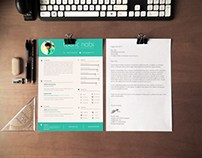Free Graphic Designer Resume/CV Template