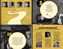 Album Cover Design - Doo-Wops & Hooligans 5th Year Ann