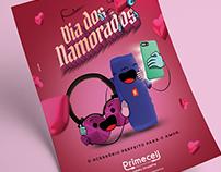 Anúncio Dia dos Namorados - Primecell