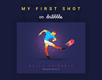 My First Debut Shot on Dribbble