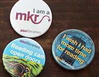 Arizona State University Library Buttons