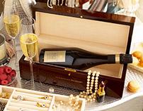Champagne Jacquard