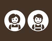 Life Around Home Logo Concepts