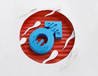 Papercut illustrations - Health clinic