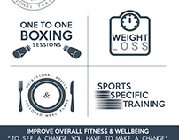 Personal Trainer Leaflet