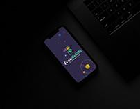 Free Dark iPhone 11 Mockup PSD