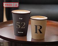 Free Cup Mockups