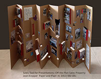 Large Pop Up Concertina: Selling Property off the Plan