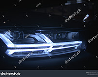 Audi Q7 Matrix LED Headlight