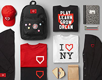 Dream Harlem School Branding