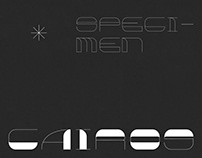 Cairos font - 8 variations